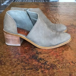 {1.State} Isak Olive Bootie. Size 7.5. Worn once.